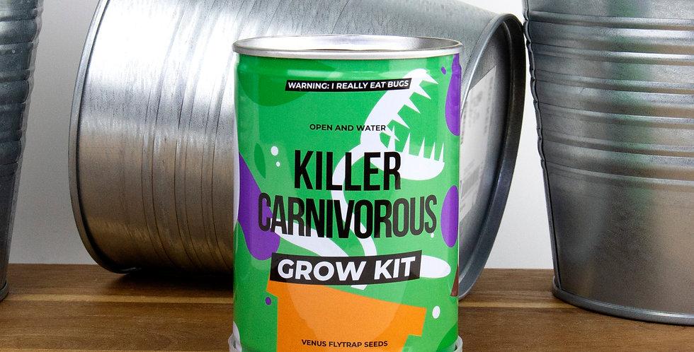 Killer Carnivorous Grow Tin
