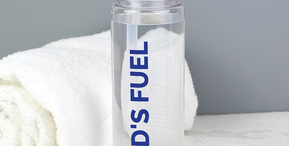 Blue Fuel Island Water Bottle