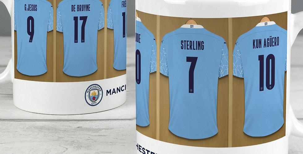 Manchester City Football Club Dressing Room Mug