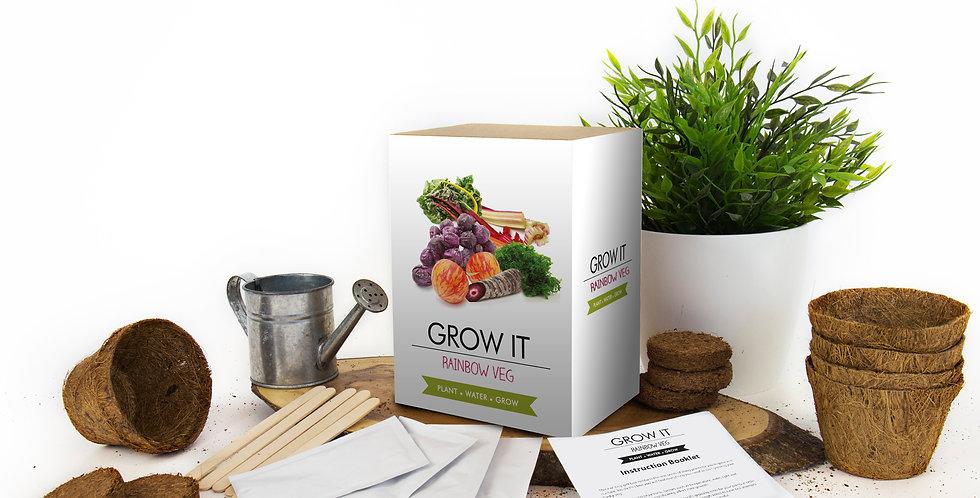 Grow Your Own Rainbow Veg