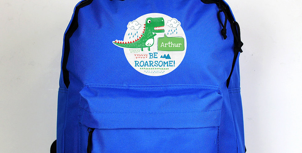 'Be Roarsome' Dinosaur Backpack