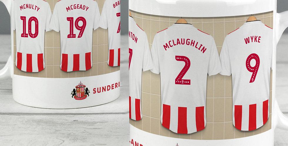 Sunderland Athletic Fotball Club Dressing Room Mug