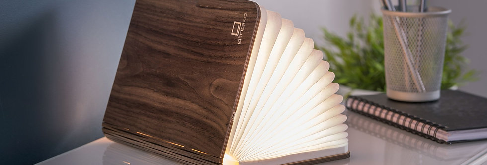 Smart Booklight Large  - Natural Wood