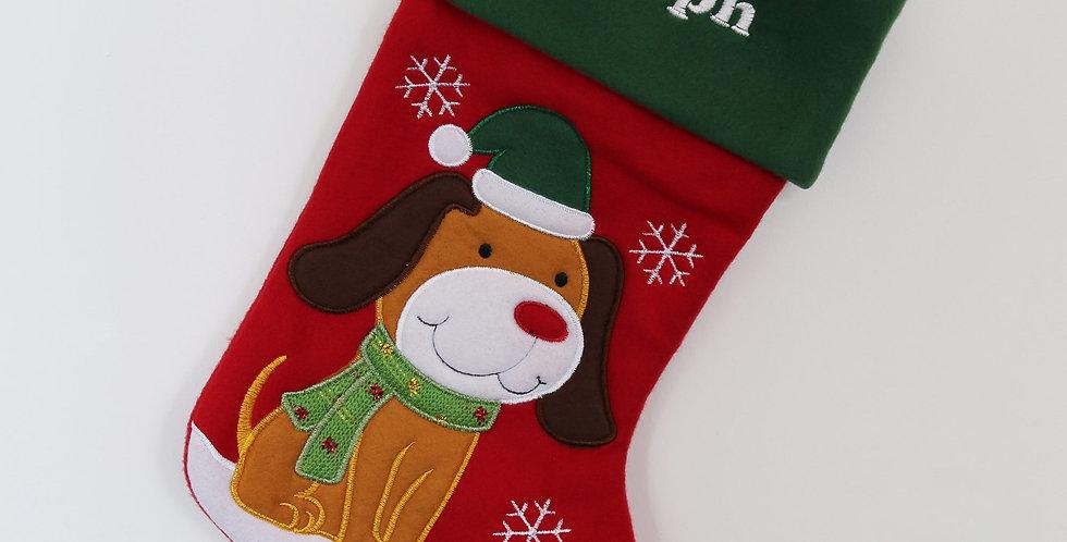Luxury Pet Dog Christmas Stocking