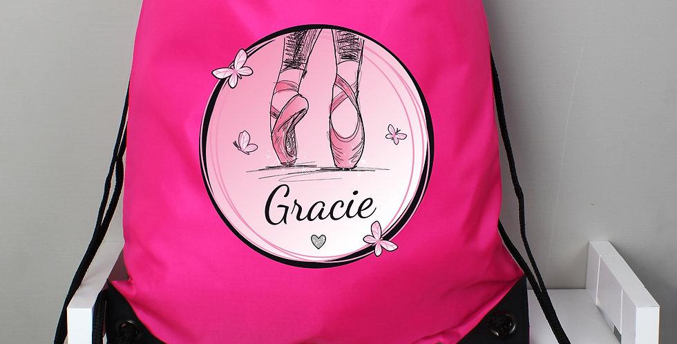 Pink Ballet Kit Bag
