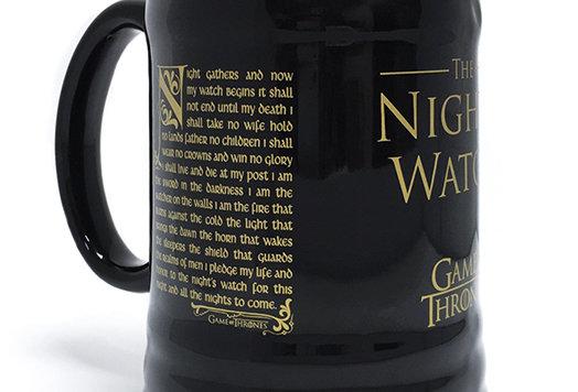 Game of Thrones (Night's Watch Oath) Ceramic Stein