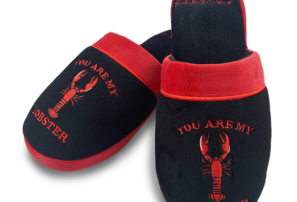 Friends You Are My Lobster Ladies Slippers