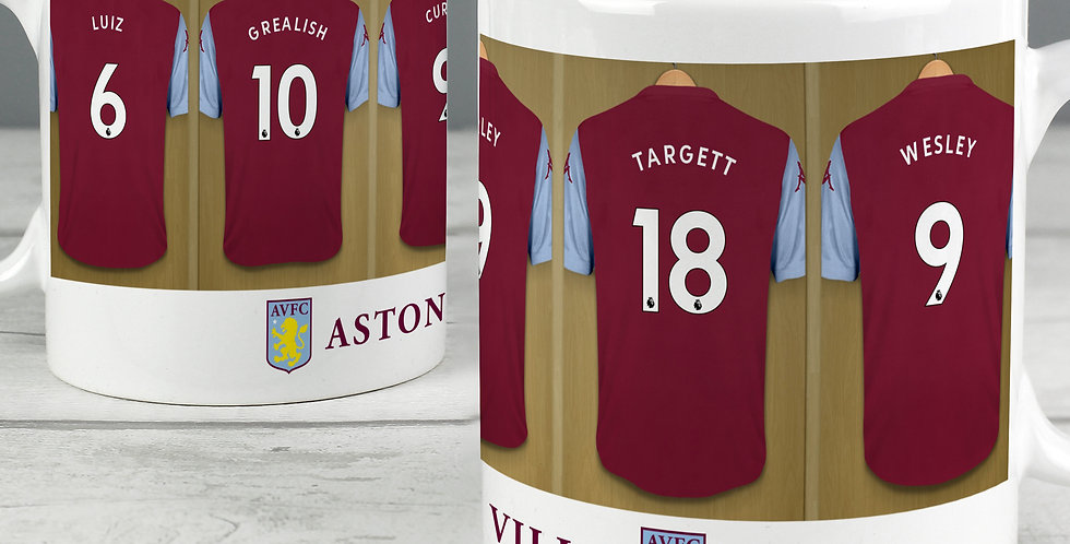 Aston Villa Football Club Dressing Room Mug