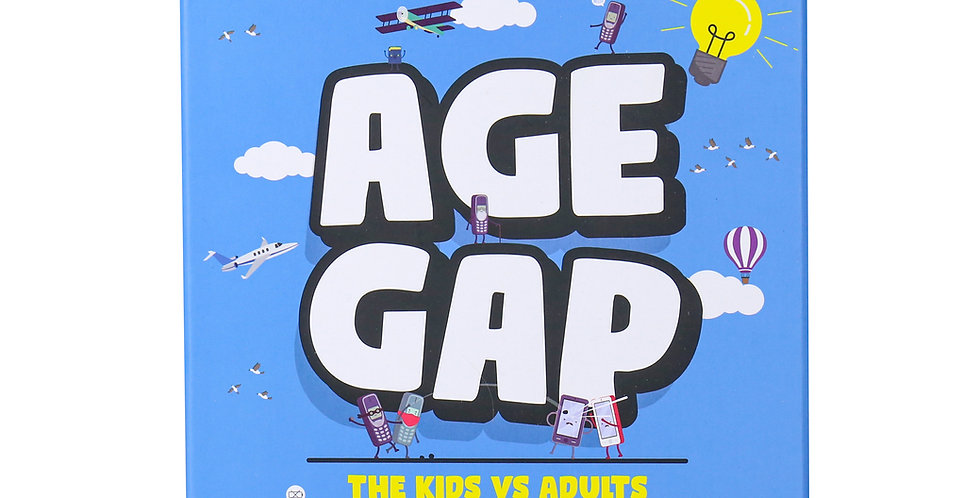 Age Gap – Kids vs Adult Trivia Game