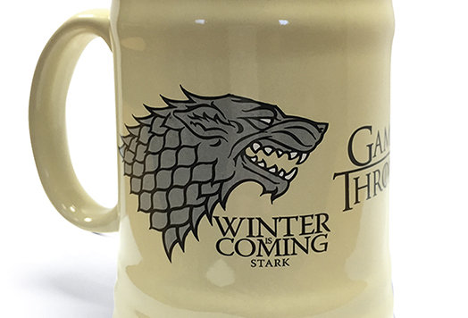 Game of Thrones (House Stark) Ceramic Stein