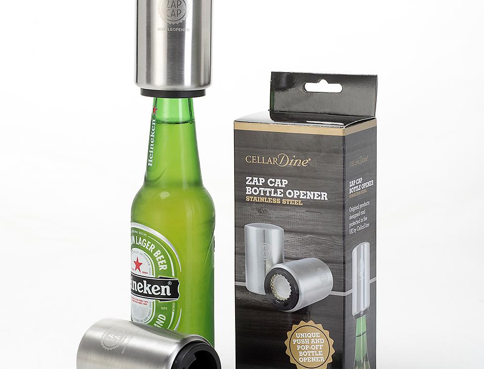 Zap Cap Stainless Steel Bottle Opener
