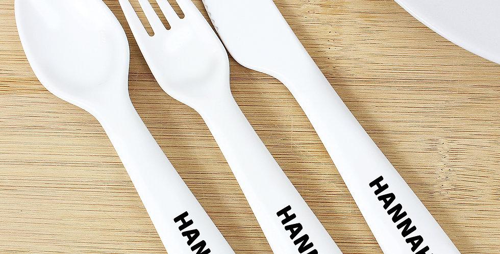 Panda Plastic Cutlery