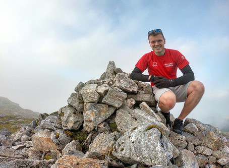 Liam Chase completes astonishing challenge to raise money for charity.