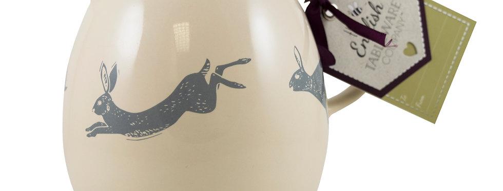 Artisan Hare Earthenware Milk Jug