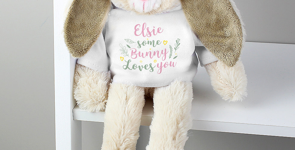 'Some Bunny Loves You' Bunny Rabbit