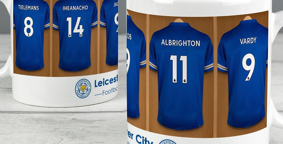 Leicester City Football Club Dressing Room Mug