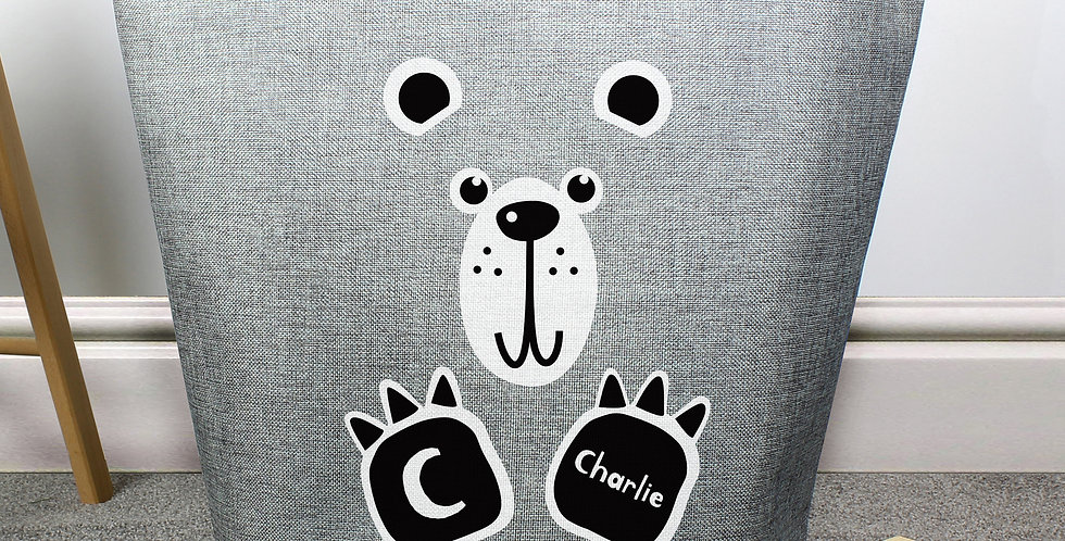 Bear Print Storage Bag