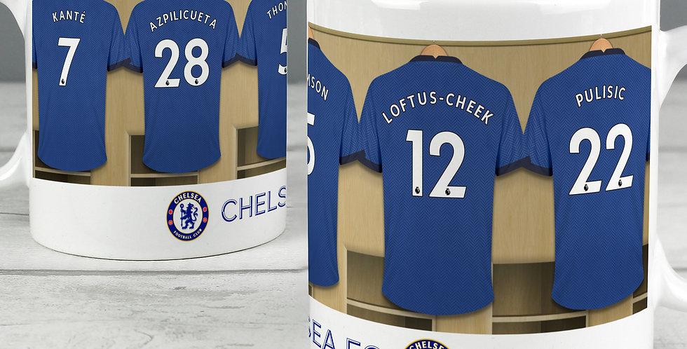 Chelsea Football Club Dressing Room Mug