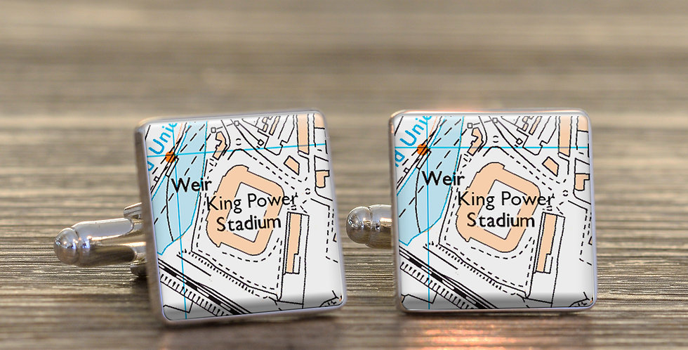 Favourite Football Ground Cufflinks
