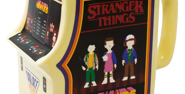 Stranger Things Arcade Machine Shaped Mug