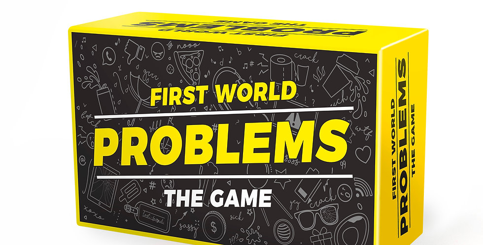 First World Problems Game