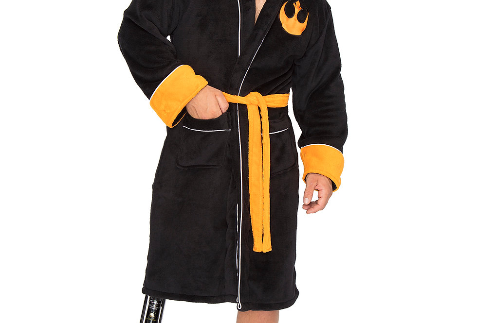 Star Wars Join The Resistance Bathrobe Front View
