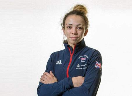 Chelsie Giles British Judo Champion Exclusive Interview!