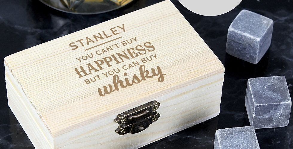Happiness Whiskey Stones