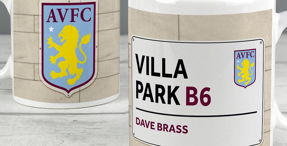 Aston Villa FC Street Sign Mug
