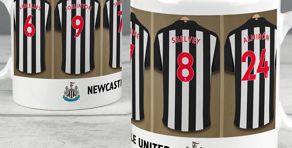 Newcastle United Football Club Dressing Room Mug