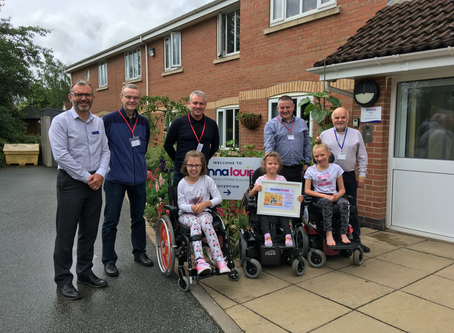 The gift of air conditioning for children's hospice.
