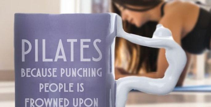 PILATES MUG - PUNCHING PEOPLE