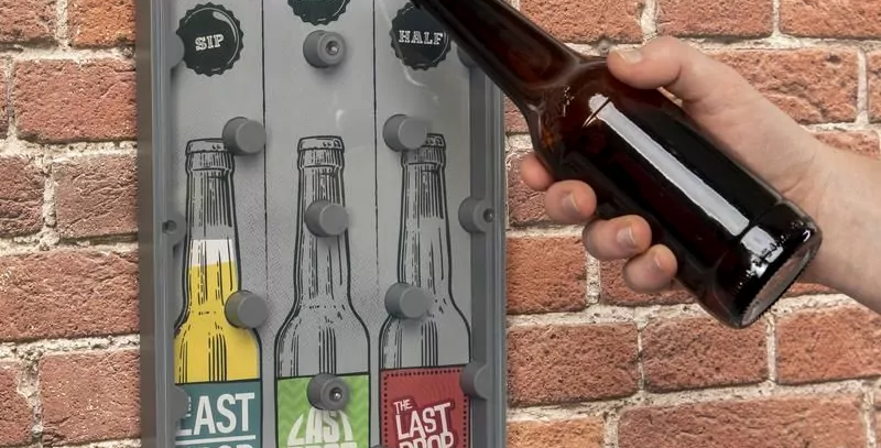 The Last Drop Bottle Opener and Drinking Game