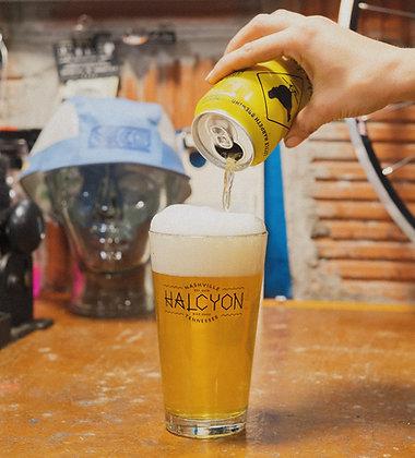 Halcyon Pint Glass