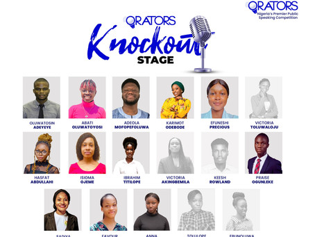 The Orators Online Bootcamp: Knockout Rounds!