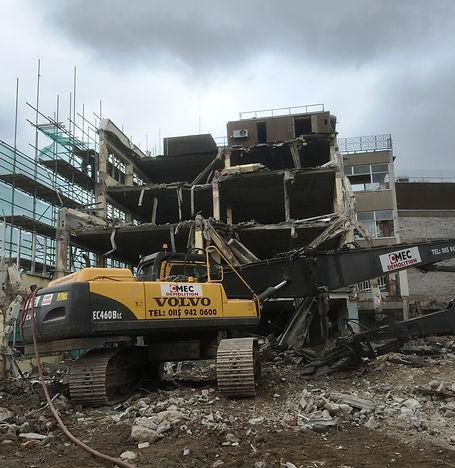 Demolition | CMEC Demolition Ltd | Nottingham