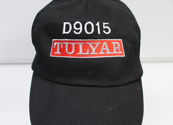 Black Baseball Cap with D9015 Tulyar