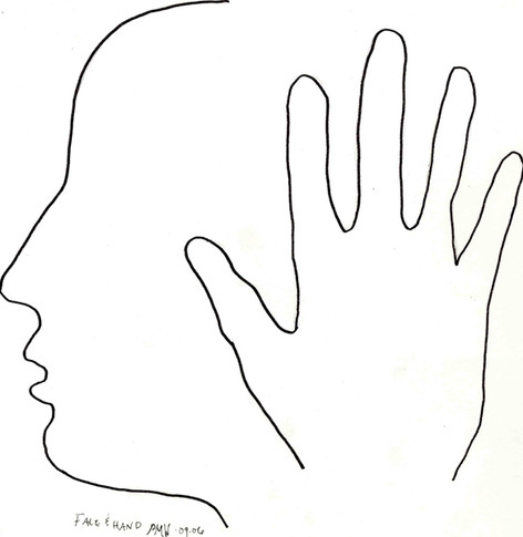 Hand and Face