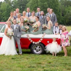 Rain Drops of Love! Kaitlin & Ben's Wedding