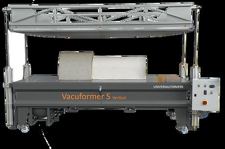 PNG_02 Vacuformer S Vertical Werkstücke