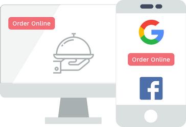 Online ordering for resaurants