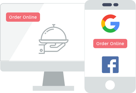 Online ordering for resaurants