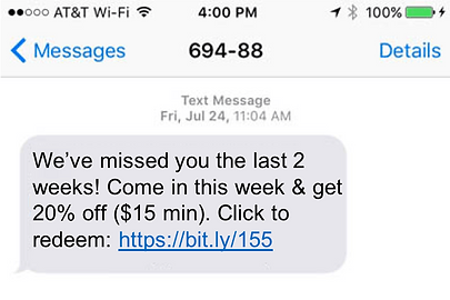 Boostl lets restaurants text their customers. Its fully automated, saving restaurant owners time & money