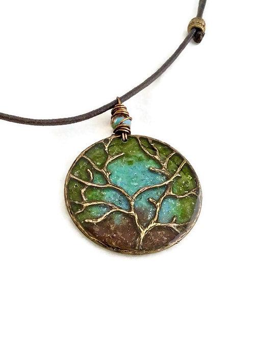 Tree of Life Pendant on Cord