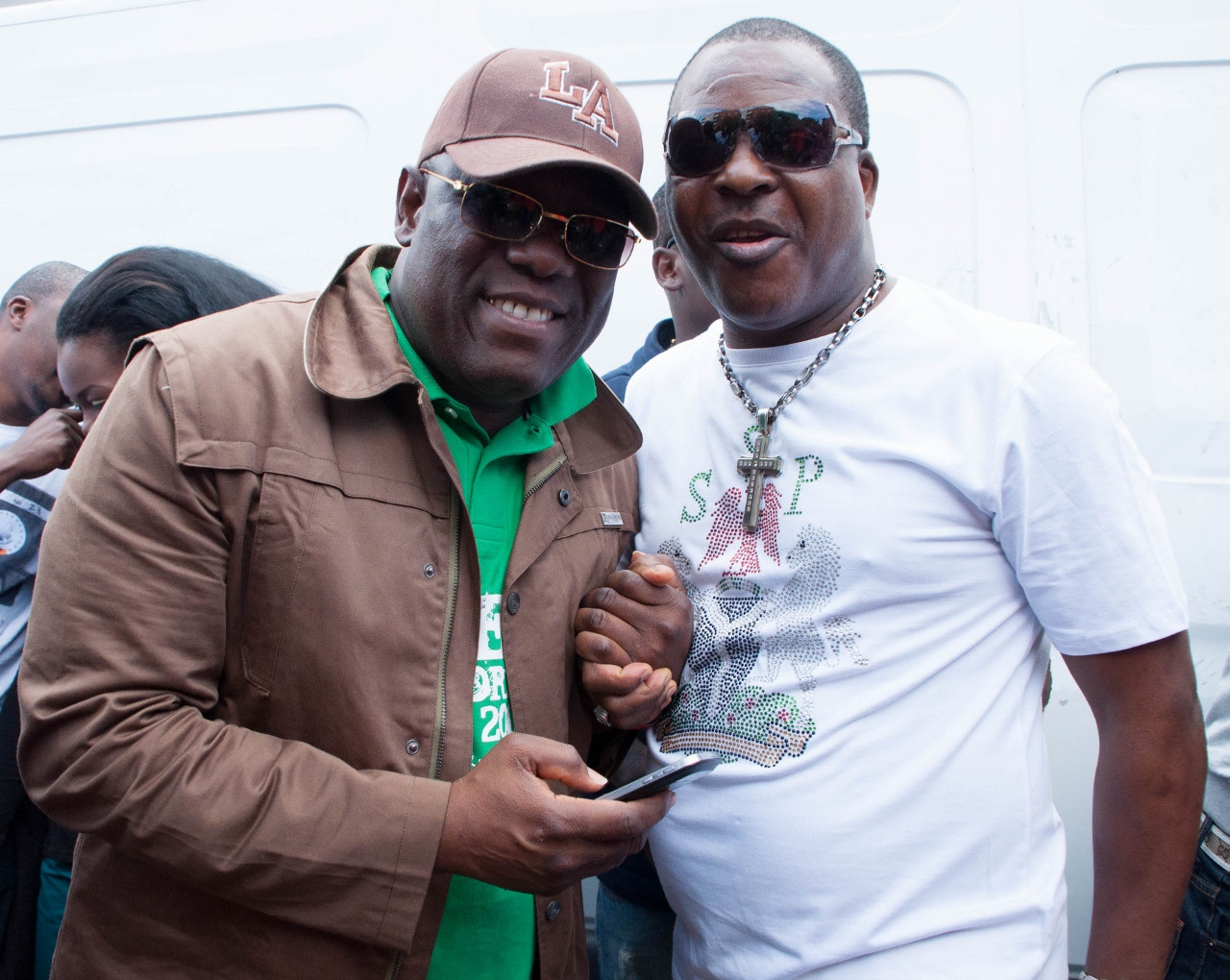 Kenny Ogungbe & Sir Shina Peters