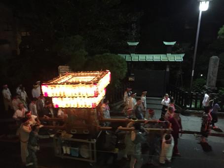 甘縄神明社・例大祭