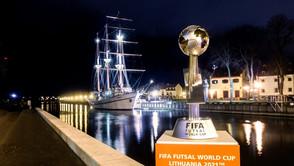 Definidas as 24 seleções do Mundial de Futsal da Lituânia 2021