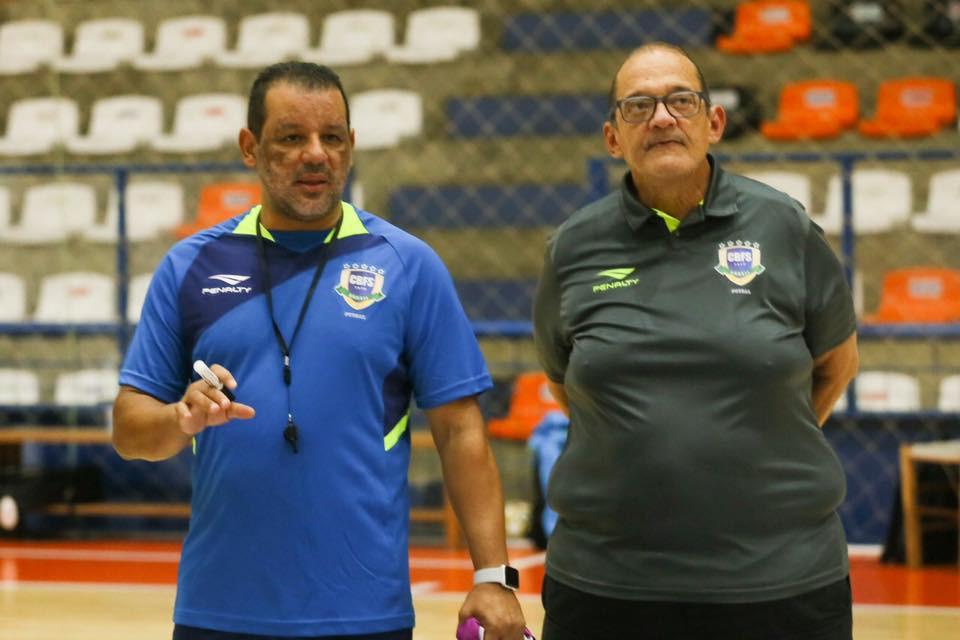 Crédito: Yuri Gomes - Marquinhos Xavier e Ferreti na preparação da Eliminatórias em Carlos Barbosa