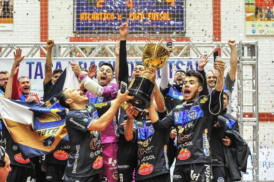 Crédito: Ricardo Artifon - Título da Taça Brasil em 2018