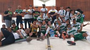Com dois gols de Neto, Oximania vence e é campeão do Sergipano Sub-15